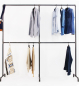 Preview: Industriedesign Garderobe Four