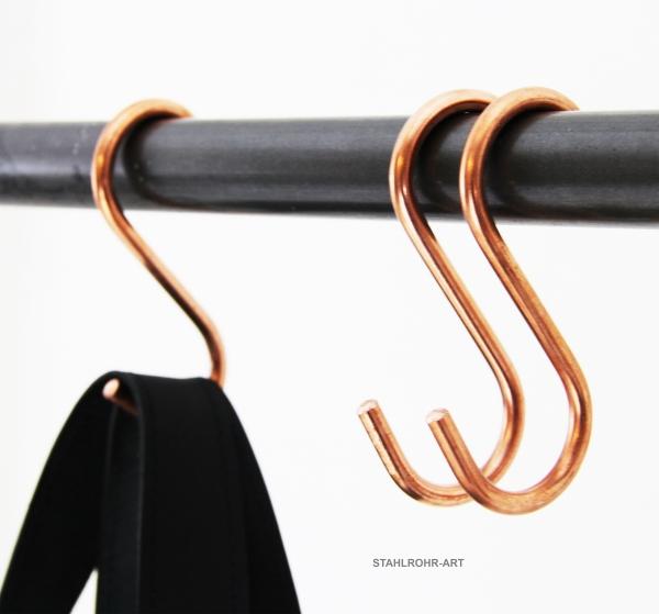 Kleiderhaken Vintage Haken zum Schrauben SenPuSi 20 St/ücke Garderobenhaken Kupfer