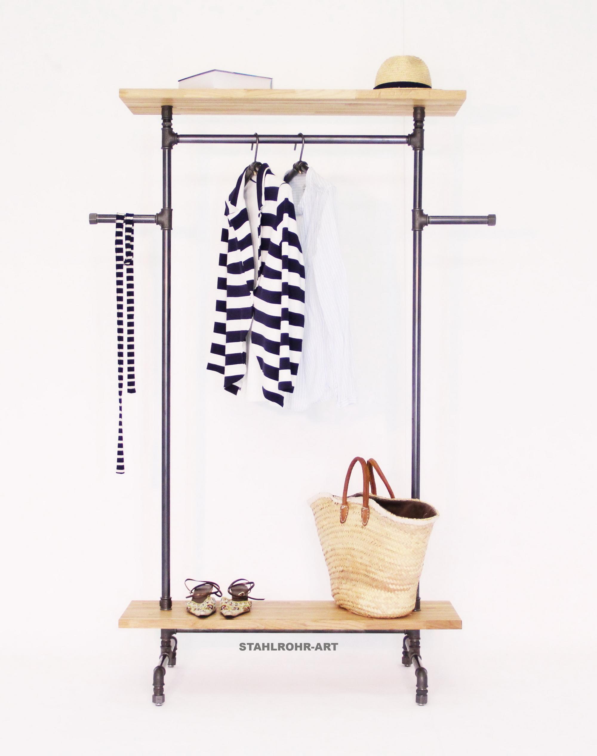 Stahlrohr Art Garderobe Insutrie Stil Flurgestaltung Ladenbau